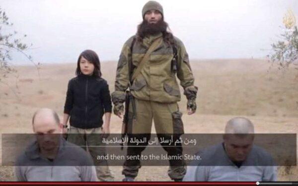 Боевики «Исламского государства» опубликовали видео казни якобы двух российских агентов ФСБ