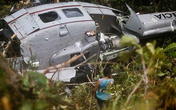 В Испании разбился вертолет