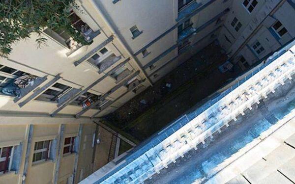 В Северодвинске пьяный мужчина упал с пятого этажа и остался жив