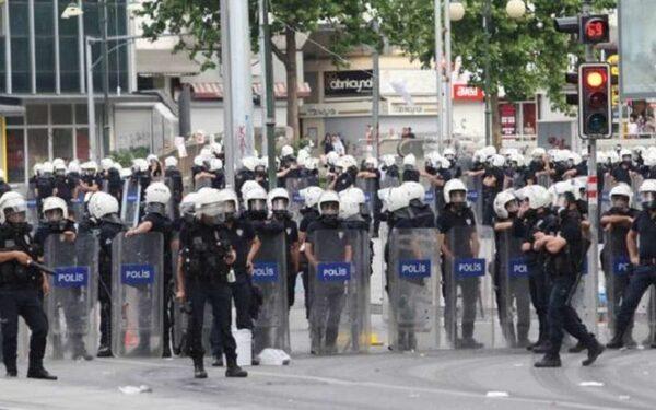 полиция у посольства сша в стамбуле