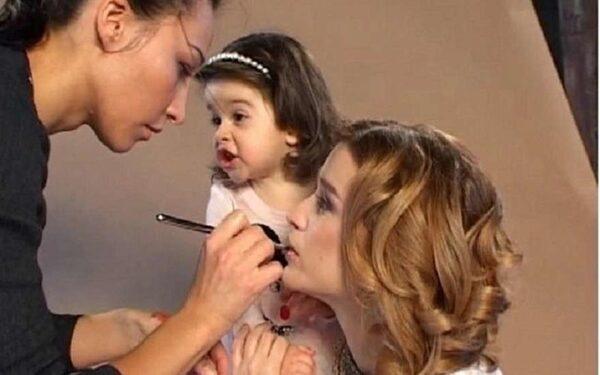 ксения бородина с дочкой марусей в клипе